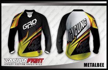 Desain Baju Sepeda Downhill Code Metalbee Tampil Elegant