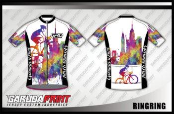 Desain Baju Sepeda Gowes Code Ring-Ring Sangat Trendy