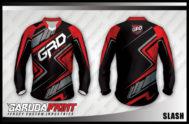 Desain Baju Sepeda Gunung Slash yang Terkini
