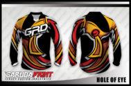 Desain Kaos Sepeda Mtb Code Hole-Of-Eye Lebih Sporty