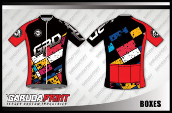Desain Jersey Sepeda Gowes Boxes Yang Begitu Menggoda