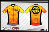 Desain Kaos Sepeda Gowes Code Zakuza Bisa Custom Kerah