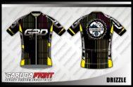 Desain Jersey Sepeda Road Bike Drizzle Tampil Trendy