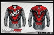 Desain Jersey Kaos Sepeda MTB Scream Ranger Yang Tampil Beda