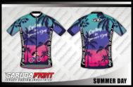 Desain Baju Sepeda Gowes Code Summer-Day Desain Unik