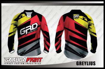 Desain Kaos Sepeda Downhill Code Greylius Garis Zigzag