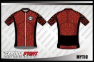 Desain Kaos Sepeda Road Bike Code Mytic Tampil Futuristik
