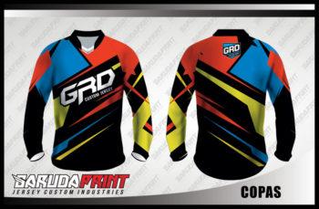 Desain Kaos Sepeda MTB Copas Tampil Prima