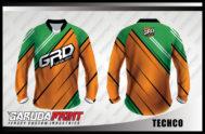 Desain Kaos Sepeda MTB Kode Techco Desain Atraktif