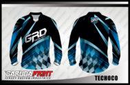 Desain Baju Sepeda MTB Kode Techoco Tampil Lebih Maskulin