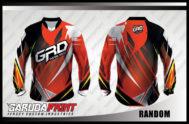 Desain Kaos Sepeda Downhill MTB Random Super Garang