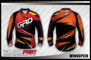 Desain Kaos Sepeda Mtb & Downhill Wingspeed Tampil Beda