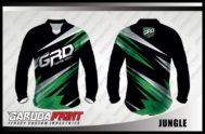 Desain Kaos Sepeda MTB Code Jungle Tampil Lebih Fresh