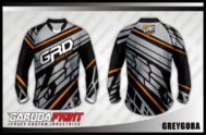 Desain Kaos Sepeda MTB Greygora dengan Corak Keren