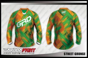 Desain Kaos Sepeda MTB Street-Grunge Menawan dan Susah Dilewatkan