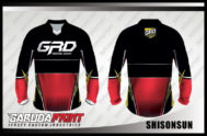 Desain Baju Sepeda Downhill Kode Shisonsun Tampilkan Aura Sporty