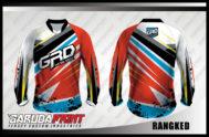 Desain Baju Sepeda Downhill MTB Rangked Motifnya Keren