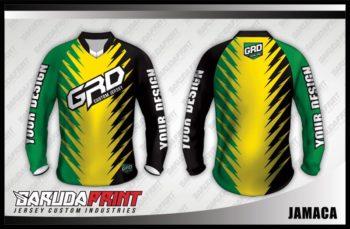 Desain Baju sepeda Downhill Jamaca Bagi Anda Pecinta Aksen Nyeleneh