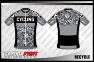 Desain Baju Sepeda Gowes dan Road Bike Code Recycle Lebih Modern