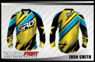 Desain Baju Sepeda Downhill Code Jhon-Smith Begitu Artistik