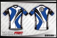 Desain Kaos Sepeda Gowes Division Tampil Berkelas