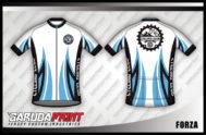 Desain Kaos Sepeda Gowes Forza Luar Biasa Kerennya