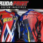 Baju Sepeda Custom Motif Garis-Garis Zig Zag Modern