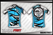Desain Baju Sepeda Gowes Mainstreet , Kece Badas!
