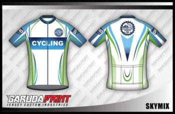 Desain Jersey Sepeda Gowes Skymix Sangat Menarik