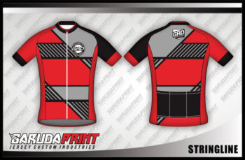 Desain Baju Sepeda Gowes Stringline, Si Kalem Namun Berani