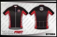 Desain Jersey Sepeda Gowes VittoriaTampil Gagah