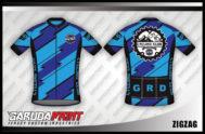 Desain Baju Sepeda Gowes ZigZag Yang Bikin Ngiri