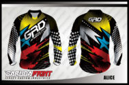 Desain Jersey Baju Sepeda Gunung MTB Alice Yang Sporty