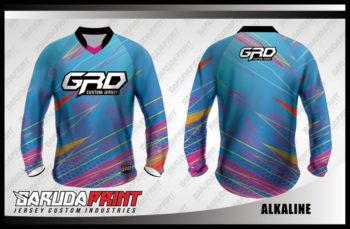 Desain Kaos Jersey Sepeda Downhill Alkaline Yang Cool