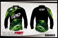 Desain Kaos Sepeda MTB Code Braknes Tampil Lebih Solid