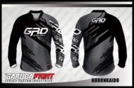 Desain Jersey Sepeda Gunung Dan MTB Code Budonkaido Warna Netral