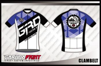 Desain Jersey Sepeda Balap Road Bike Code Clambelt Full Printing