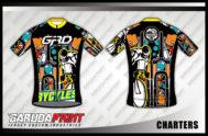 Desain Baju Sepeda Gowes Code Charters Full Printing Yang Trendy