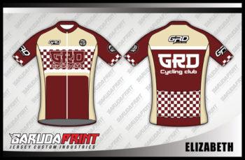 Desain Baju Sepeda Balap Code Elizabeth Yang Simple Dan Elegan