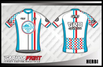 Desain Jersey Sepeda Full Print Code Herbi Terlihat Lebih Cool