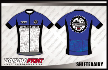 Desain Seragam Sepeda Gowes Code Shifterainy Tampilan Lebih Trendy