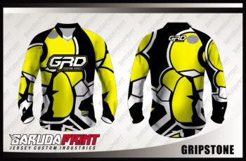 Desain Baju Sepeda Downhill Code Gripstone Yang Trendy
