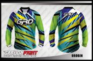 Desain Baju Sepeda MTB Code Orobin Motif Zigzag Yang Keren