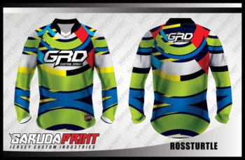 Desain Seragam Sepeda MTB Code Rossturtle Yang Trendy