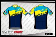 Desain Jersey Sepeda Gowes Code Vangal Tampil Lebil Trendy