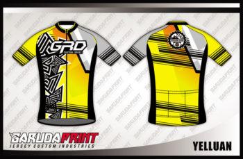 Desain Seragam Sepeda Road Bike Code Yelluan Warna Kuning