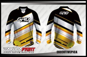 Desain Jersey Sepeda BMX Code Executivepica Motif Diagonal Yang Kece