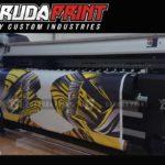 Kaos Sepeda Full Print Warna Kuning Hitam Ungu Yang Kekinian