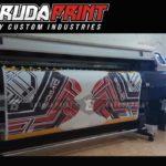 Baju Sepeda Printing Lengan Panjang Warna Hitam Putih