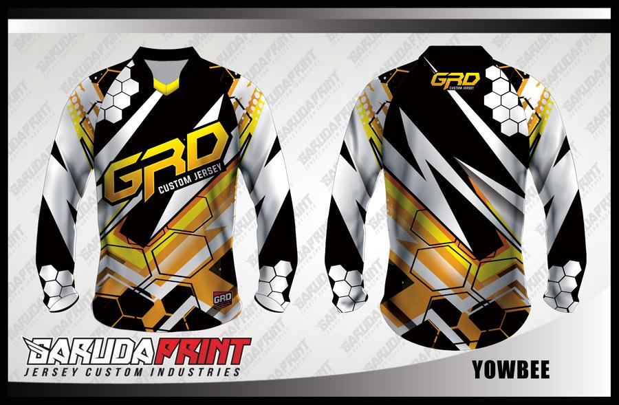 Desain Baju Sepeda MTB Code Yowbee Bergaya Lebih Sporty